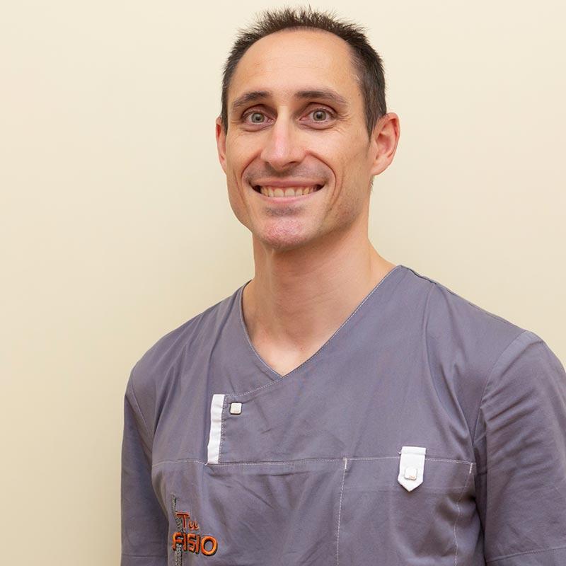 Álvaro Garcia fisioterapeuta
